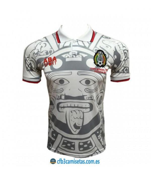 CFB3-Camisetas Camiseta Mexico 2a Mundial 1998