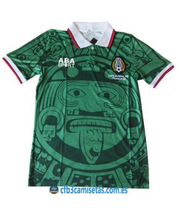 CFB3-Camisetas Camiseta Mexico Retro Mundial 1998