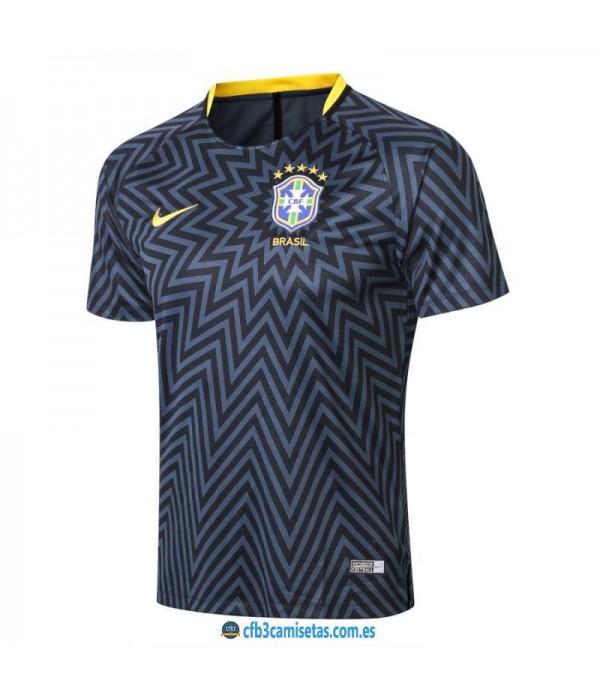 CFB3-Camisetas Camiseta pre partido Brasil 2018