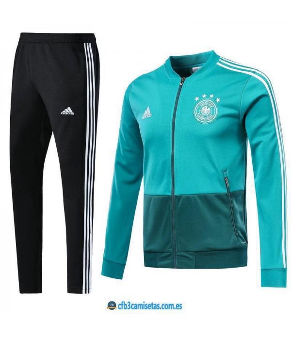CFB3-Camisetas Chándal Alemania 2018 Verde