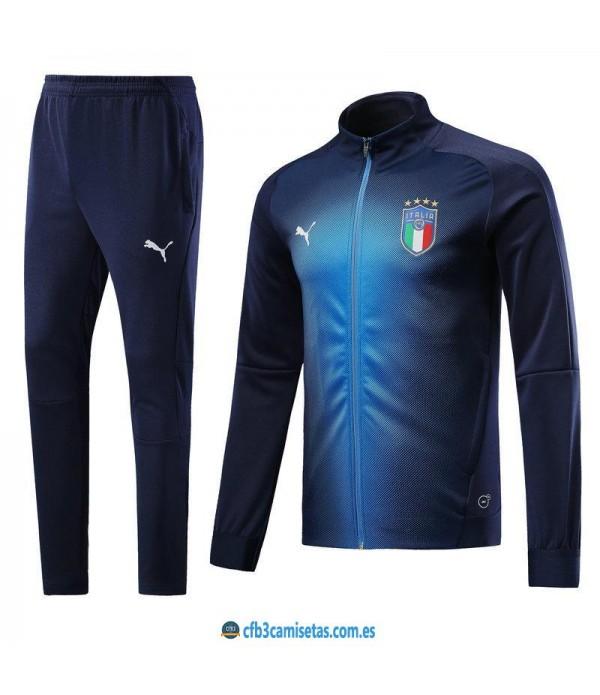 CFB3-Camisetas Chándal Italia 2018