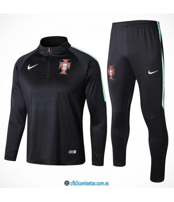 CFB3-Camisetas Chándal Portugal 2018