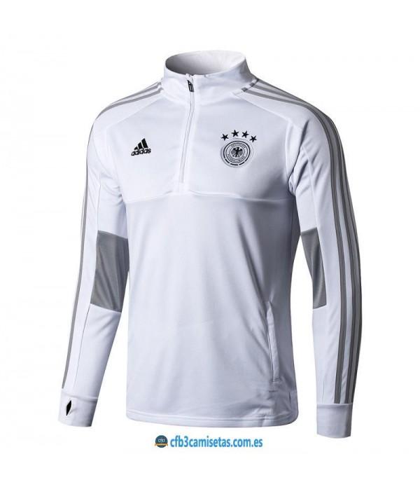 CFB3-Camisetas Chaqueta Alemania 2018 Blanca