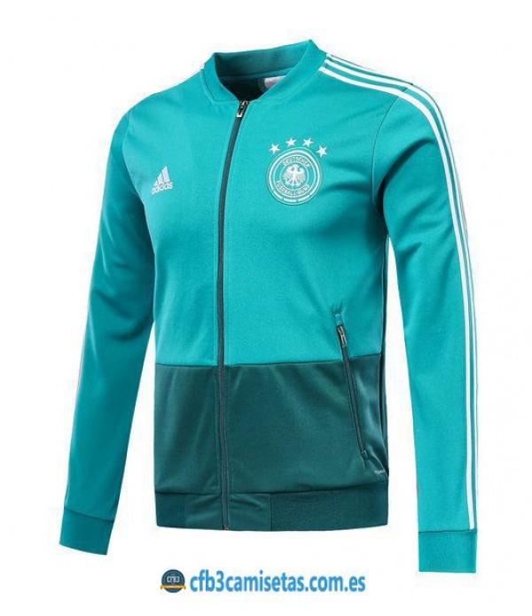 CFB3-Camisetas Chaqueta Alemania 2018 Verde