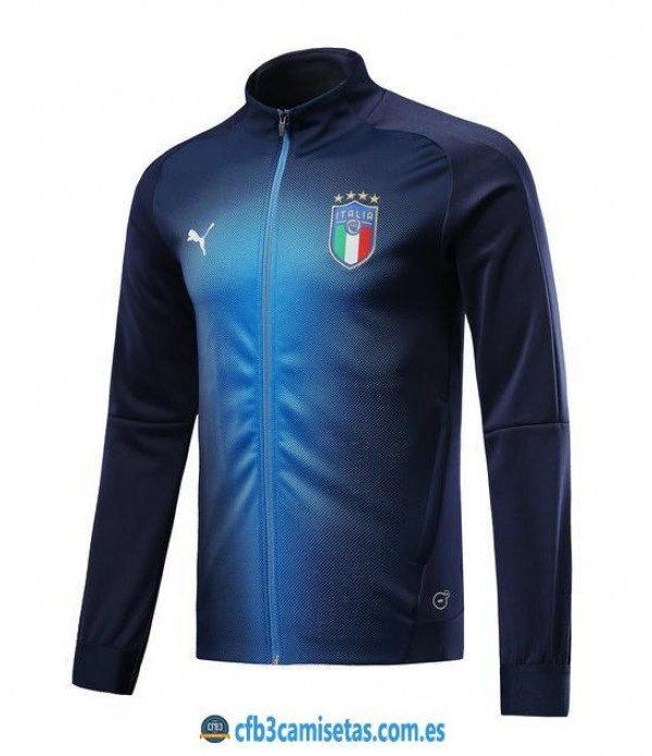 CFB3-Camisetas Chaqueta Italia 2018