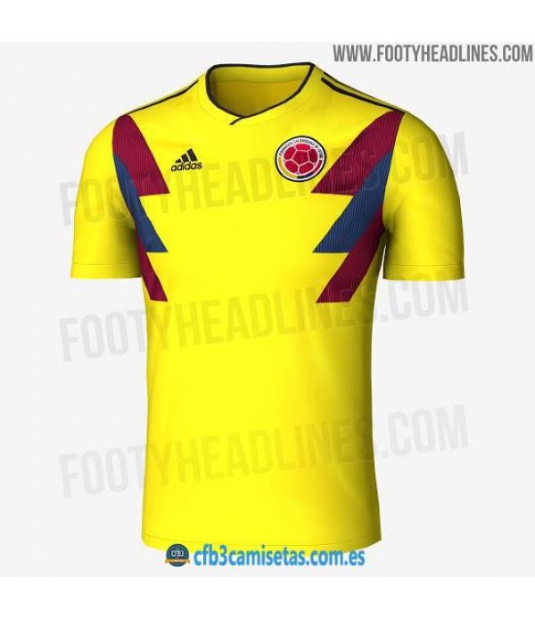 CFB3-Camisetas Colombia 1ª Equipación 2018