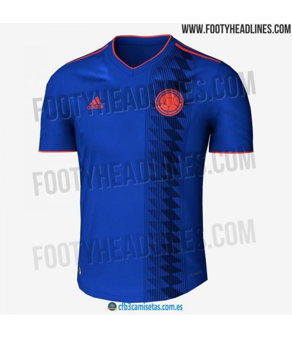 CFB3-Camisetas Colombia 2ª Equipación 2018