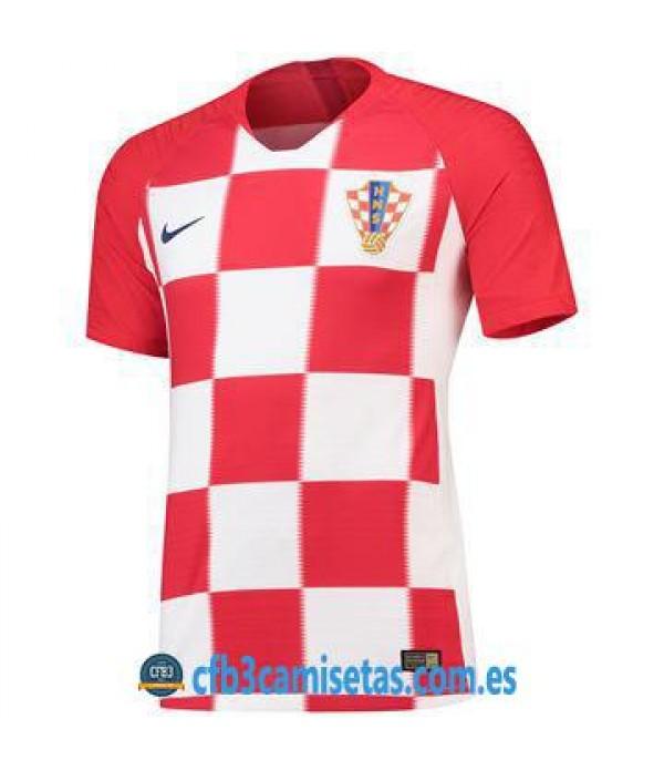 CFB3-Camisetas Croacia 1ª Equipación 2018