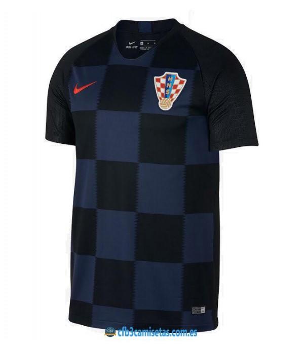 CFB3-Camisetas Croacia 2ª Equipación 2018