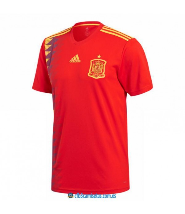 CFB3-Camisetas España 1ª Equipación 2018