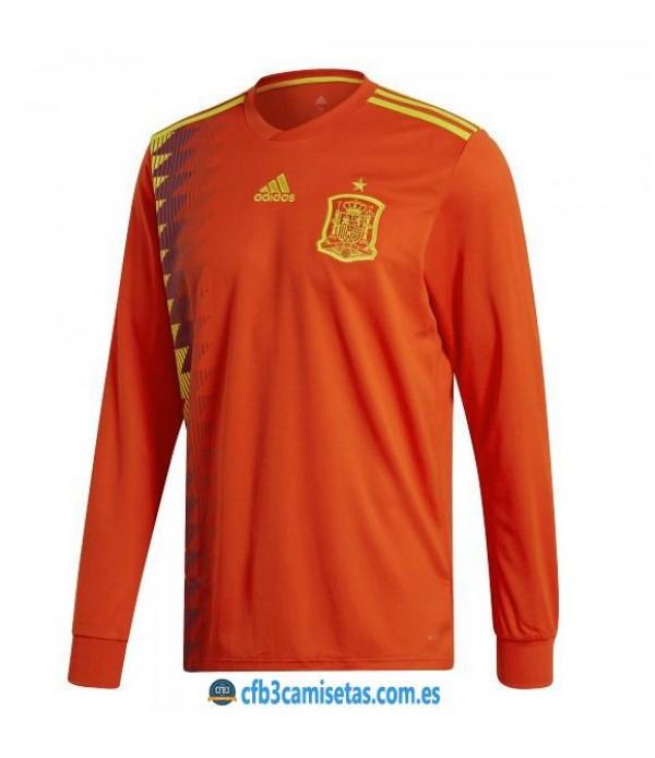 CFB3-Camisetas España 1ª Equipación 2018 ML