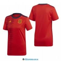 CFB3-Camisetas España 1a Equipación 2019 MUJER