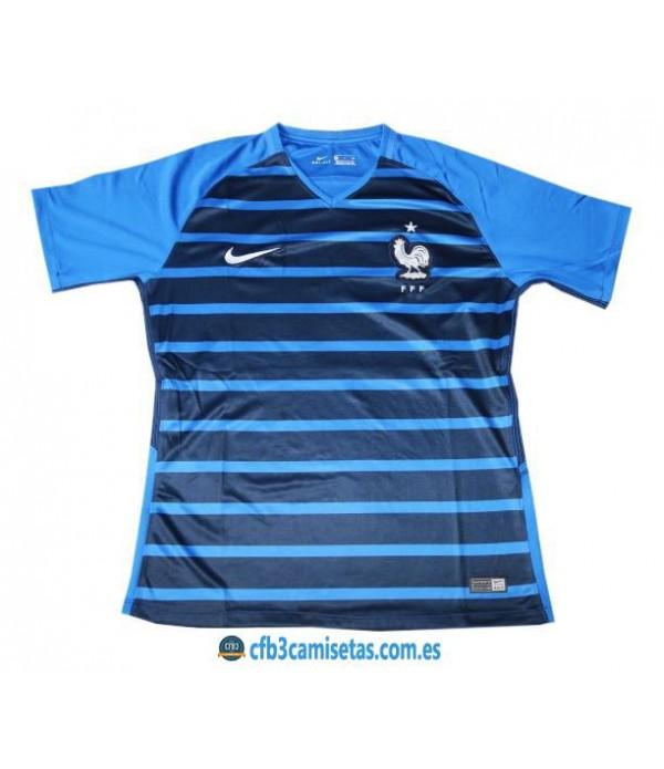 CFB3-Camisetas Francia 1ª Equipación 2018 Pre