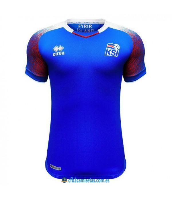 CFB3-Camisetas Islandia 1a Equipación 2018