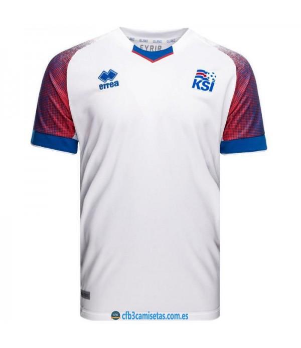 CFB3-Camisetas Islandia 2a Equipación 2018