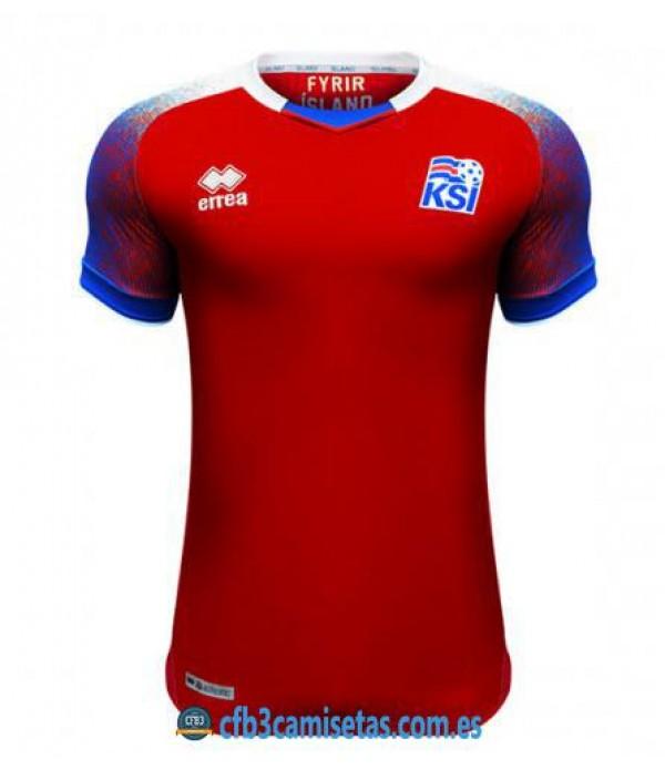 CFB3-Camisetas Islandia Equipación 2018
