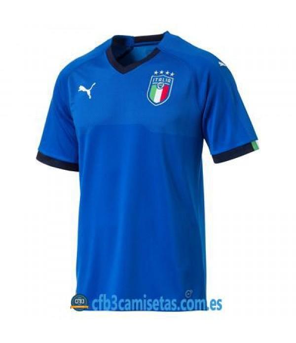 CFB3-Camisetas Italia 1ª Equipación 2018