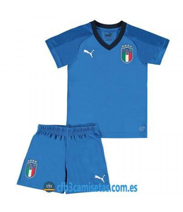 CFB3-Camisetas Italia 1ª equipacion 2018 NIÑOS