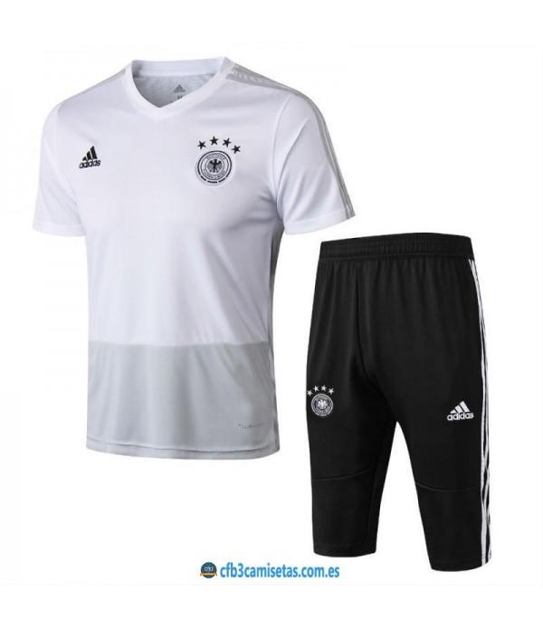 CFB3-Camisetas Kit Entrenamiento Alemania 2018
