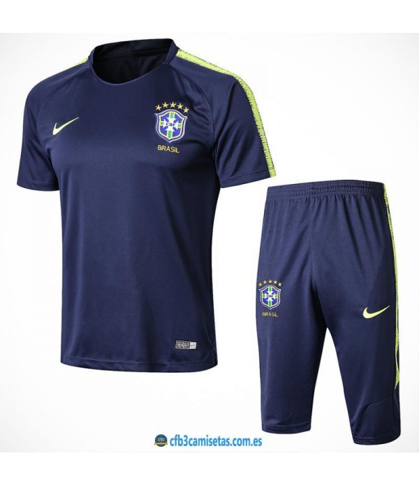 CFB3-Camisetas Kit Entrenamiento Brasil 2018