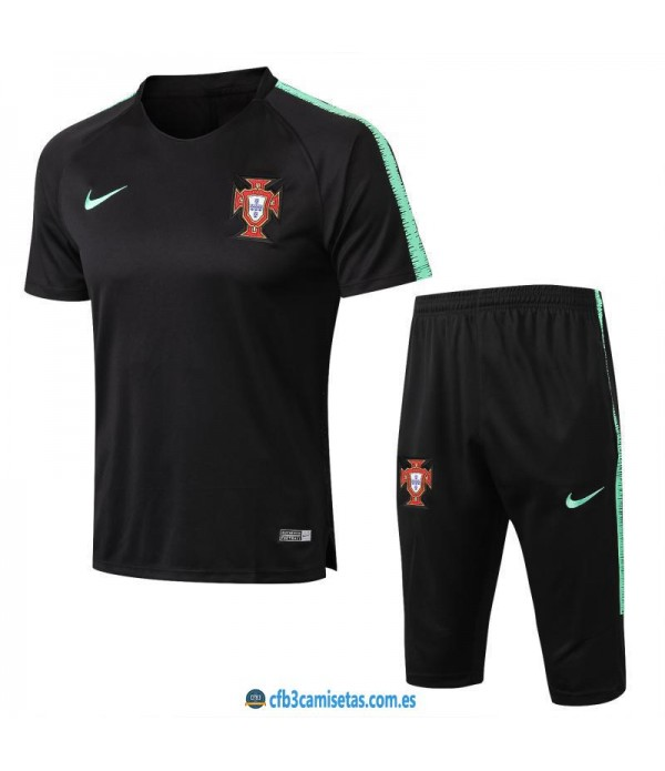 CFB3-Camisetas Kit Entrenamiento Portugal 2018