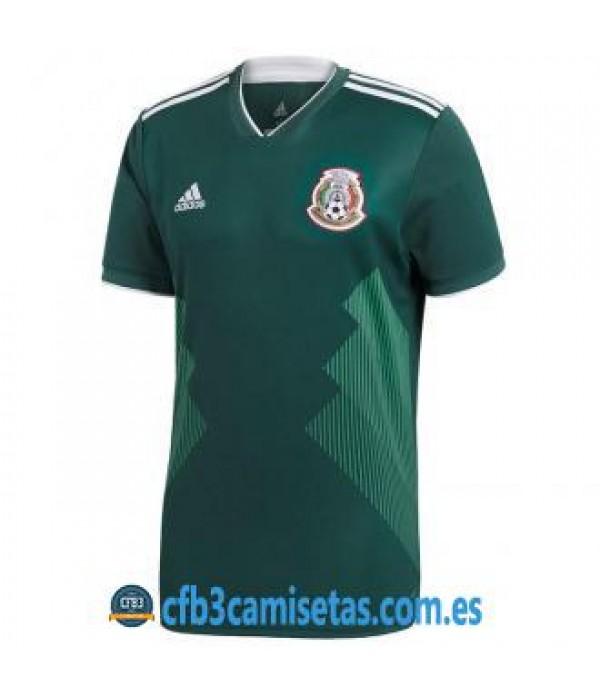 CFB3-Camisetas Mexico 1a Equipacion 2018