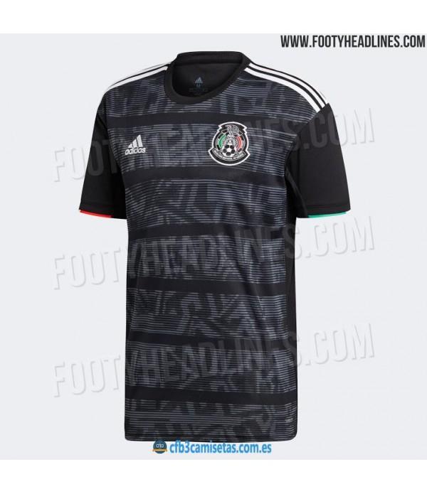 CFB3-Camisetas Mexico 1a Equipacion 2019