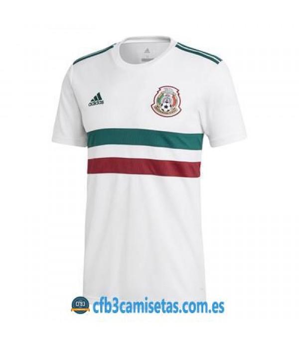 CFB3-Camisetas Mexico 2a Equipacion 2018