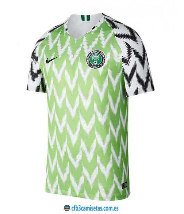 CFB3-Camisetas Nigeria 1a Equipación 2018