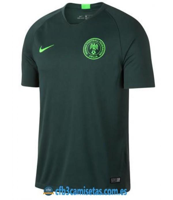 CFB3-Camisetas Nigeria 2a Equipación 2018
