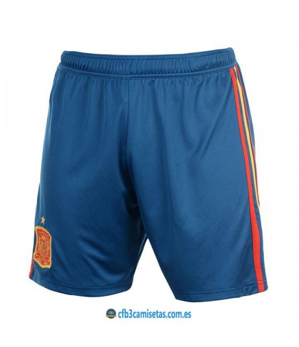 CFB3-Camisetas Pantalones 1a España 2018