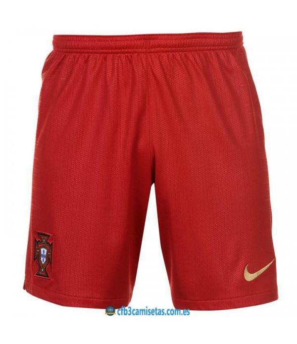 CFB3-Camisetas Pantalones 1a Portugal 2018