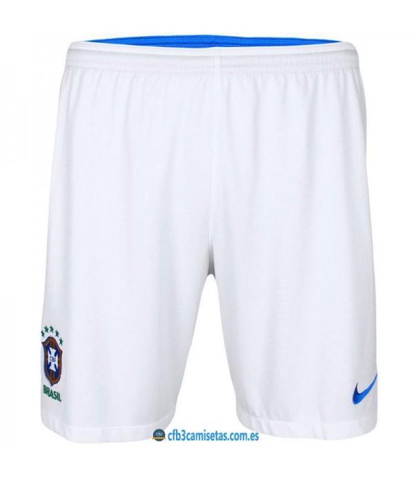 CFB3-Camisetas Pantalones 2a Brasil 2018