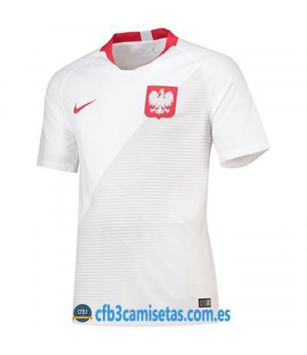 CFB3-Camisetas Polonia 1ª Equipación 2018