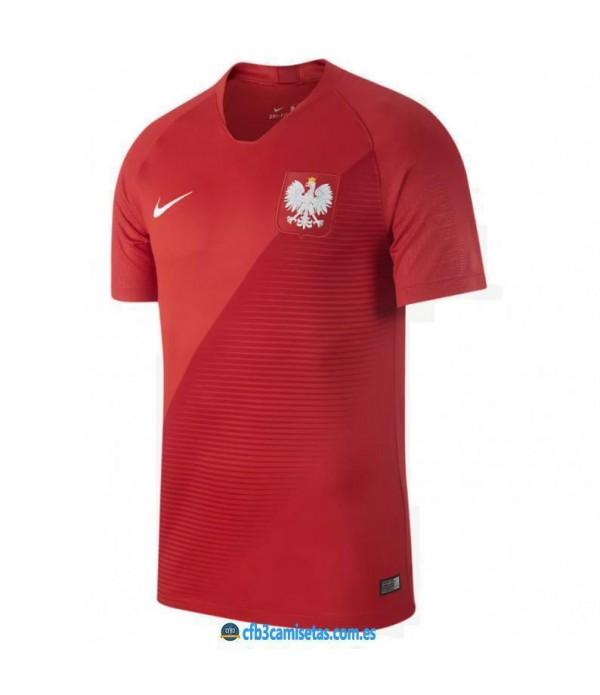 CFB3-Camisetas Polonia 2ª Equipación 2018