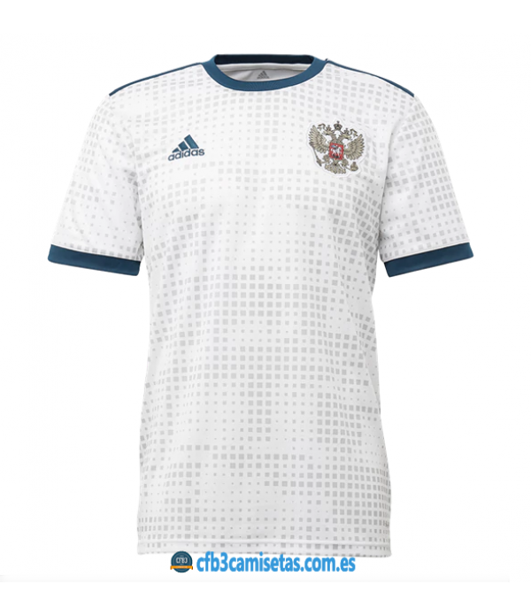 CFB3-Camisetas Rusia 2ª Equipación 2018