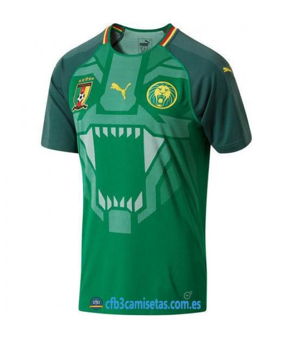CFB3-Camisetas Selección Camerún 1ª Equipación 2018