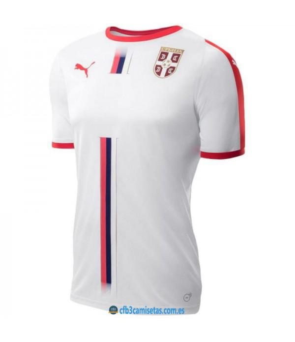 CFB3-Camisetas Serbia 1a Equipación 2018