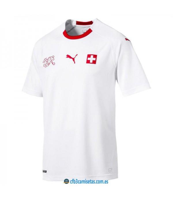 CFB3-Camisetas Suiza 2a Equipacion 2018