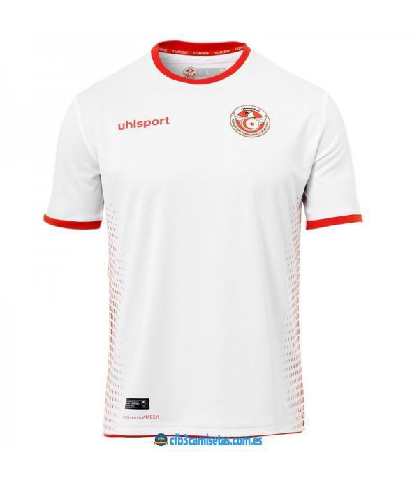 CFB3-Camisetas Túnez 1a Equipación 2018