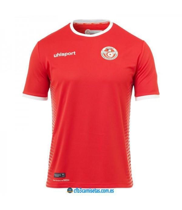 CFB3-Camisetas Túnez 2a Equipación 2018