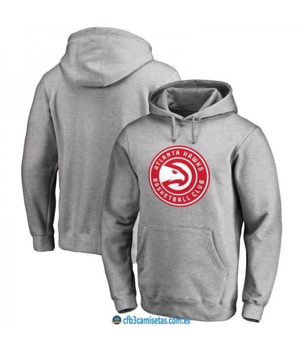 CFB3-Camisetas Sudadera Atlanta Hawks 2019