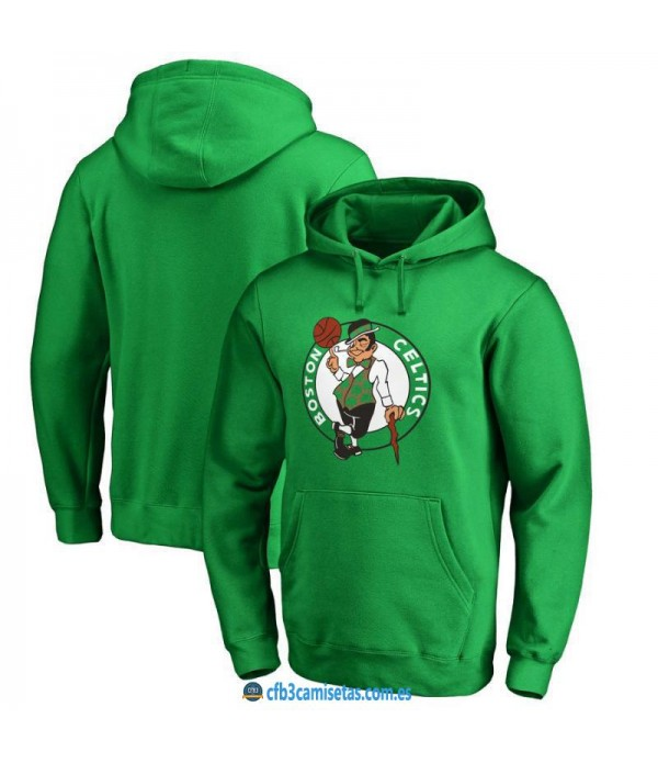 CFB3-Camisetas Sudadera Boston Celtics 2019 Logo
