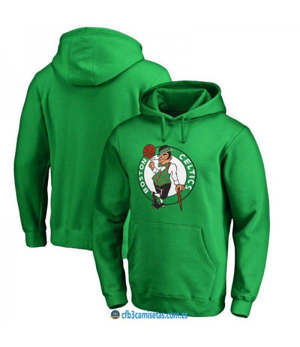 CFB3-Camisetas Sudadera Boston Celtics 2019 Logo