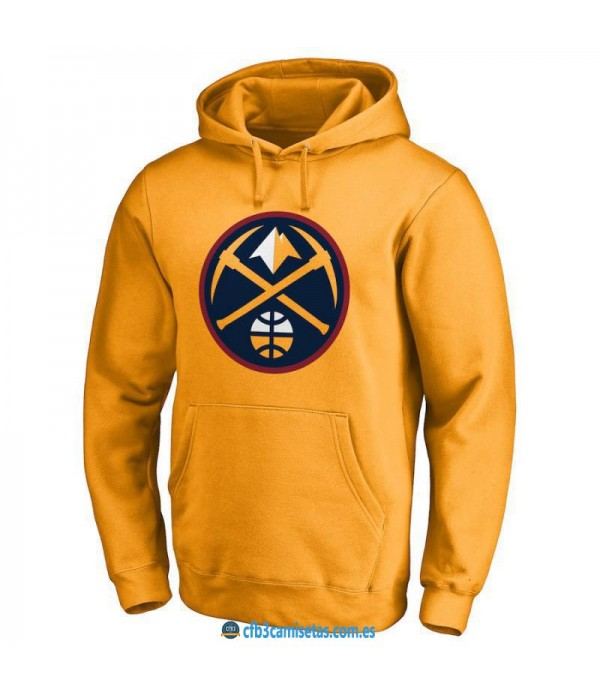 CFB3-Camisetas Sudadera Denver Nuggets 2019