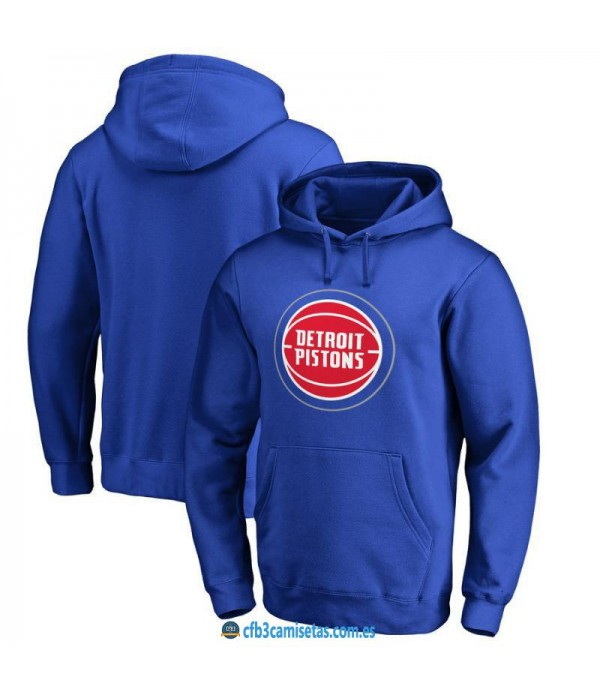 CFB3-Camisetas Sudadera Detroit Pistons 2019
