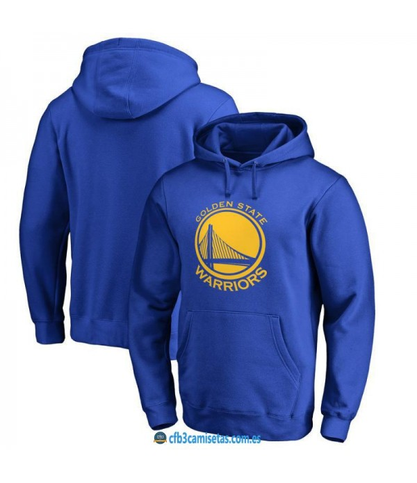 CFB3-Camisetas Sudadera Golden State Warriors 2019 Azul