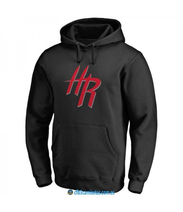 CFB3-Camisetas Sudadera Houston Rockets 2019 Negra