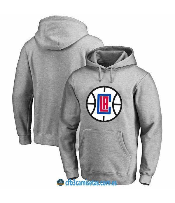 CFB3-Camisetas Sudadera LA Clippers 2019