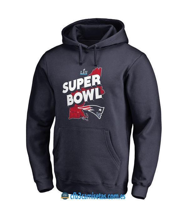 CFB3-Camisetas Sudadera New England Patriots